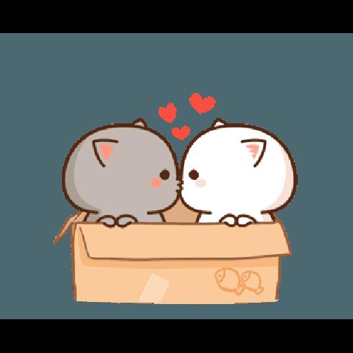 桃子猫1 - Sticker 12