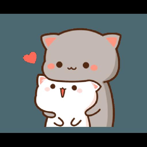 桃子猫1 - Sticker 2