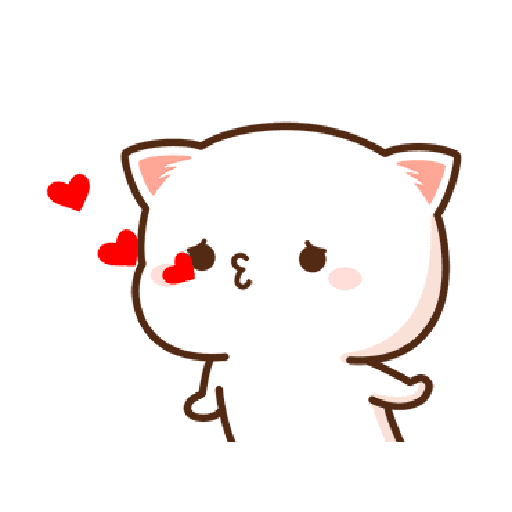桃子猫1 - Sticker 6