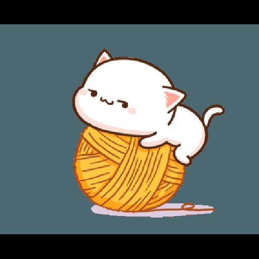 桃子猫1 - Sticker 14