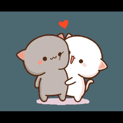 桃子猫1 - Sticker 11