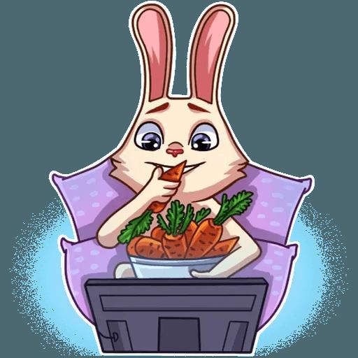 Gentle Rabbit - Sticker 30