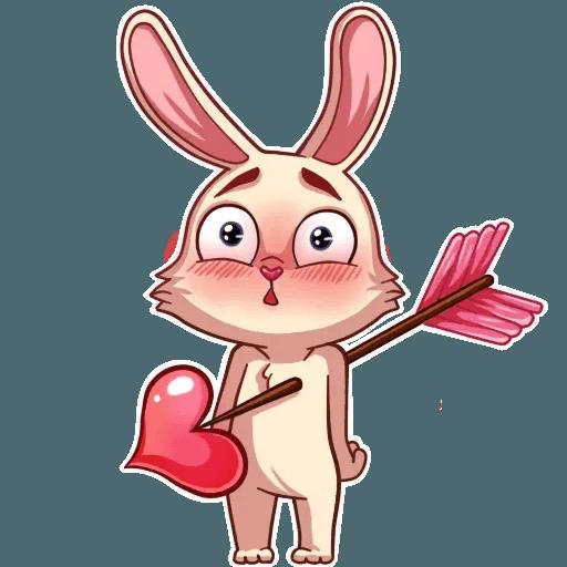 Gentle Rabbit - Sticker 11