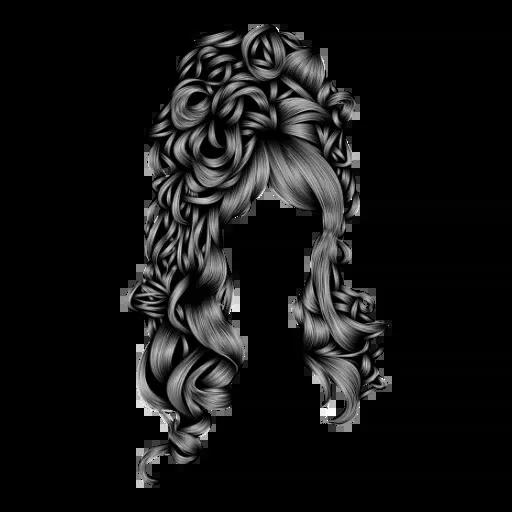 Hair Masks - Tray Sticker