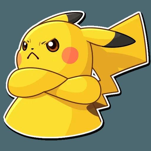 Pikachu Detective - Sticker 11