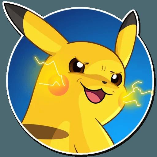 Pikachu Detective - Sticker 12