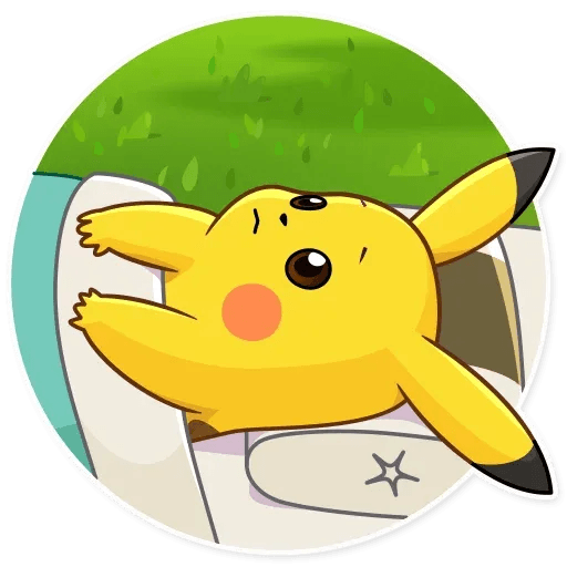 Pikachu Detective - Sticker 18