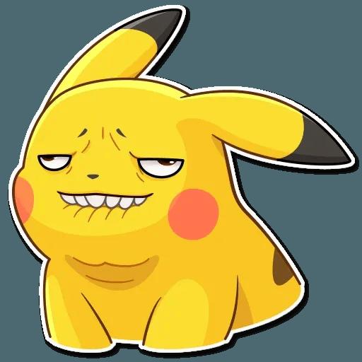Pikachu Detective - Sticker 8