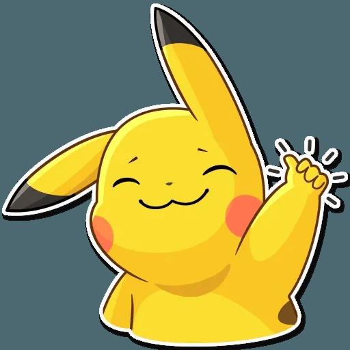 Pikachu Detective - Sticker 4