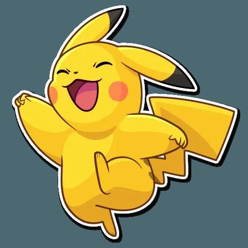 Pikachu Detective - Sticker 10