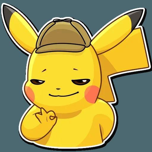 Pikachu Detective - Sticker 17