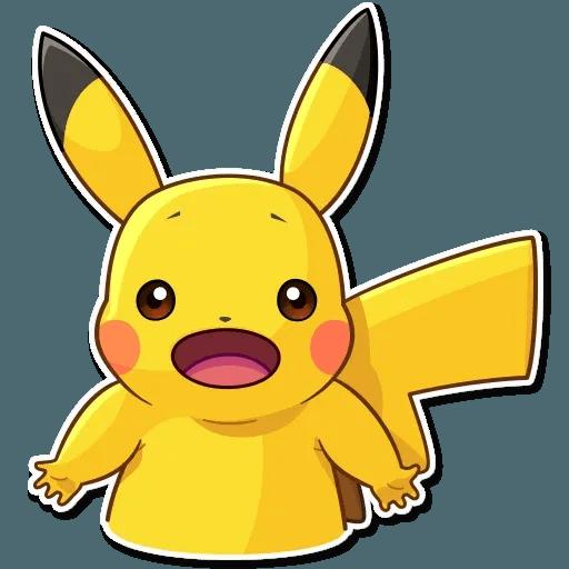 Pikachu Detective - Sticker 21