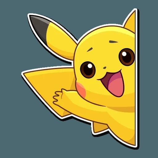 Pikachu Detective - Sticker 2