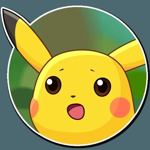 Pikachu Detective - Sticker 7