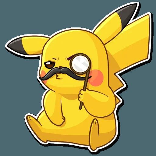 Pikachu Detective - Sticker 24