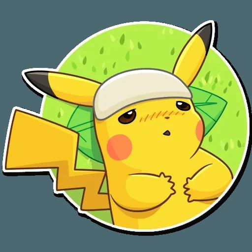 Pikachu Detective - Sticker 25