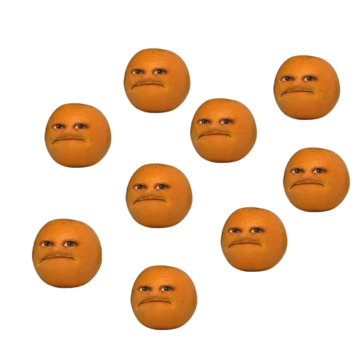 Annoying Orange - Sticker 1