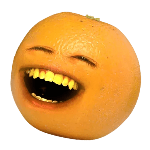 Annoying Orange - Sticker 3