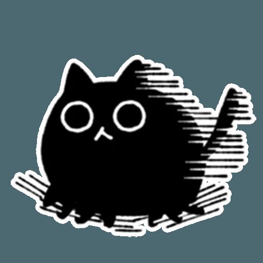 Kedama cat - Sticker 10