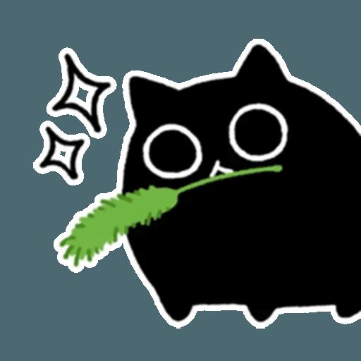 Kedama cat - Sticker 26