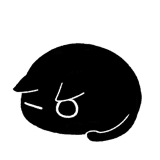 Kedama cat - Sticker 12