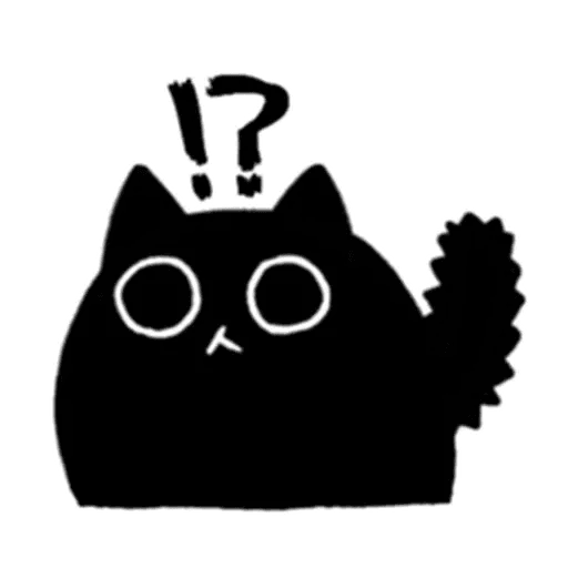 Kedama cat - Sticker 14