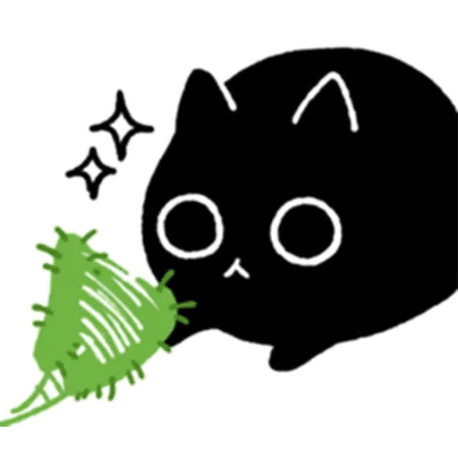 Kedama cat - Sticker 27