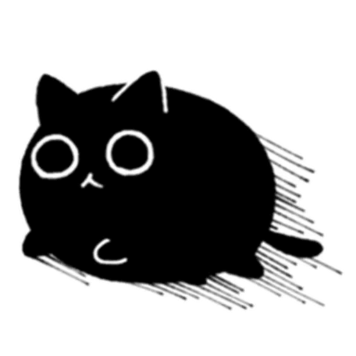Kedama cat - Sticker 20