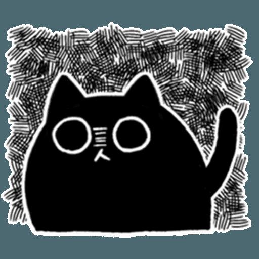 Kedama cat - Sticker 16