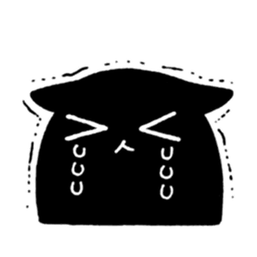 Kedama cat - Sticker 23
