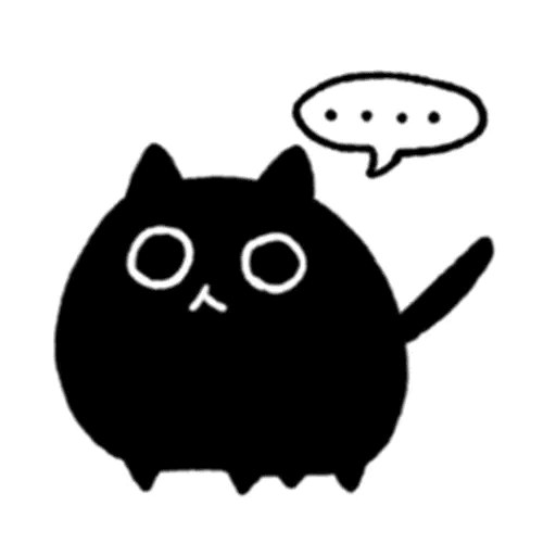 Kedama cat - Sticker 1