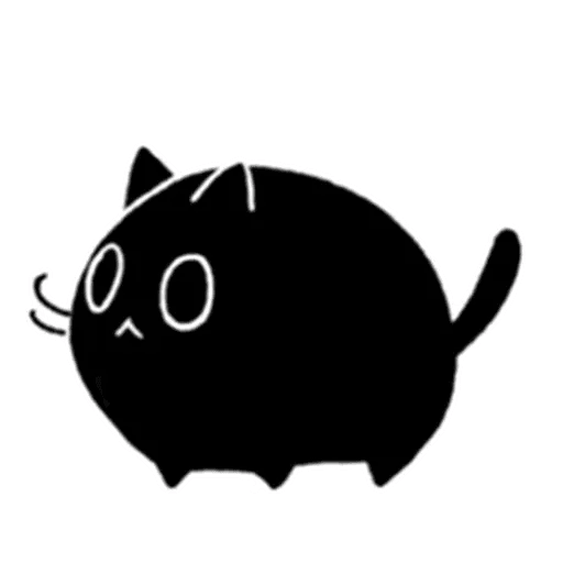Kedama cat - Sticker 6