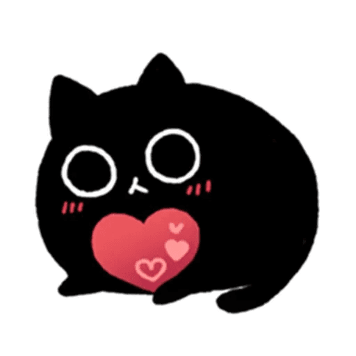 Kedama cat - Sticker 29