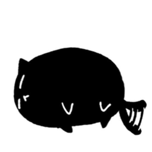 Kedama cat - Sticker 3