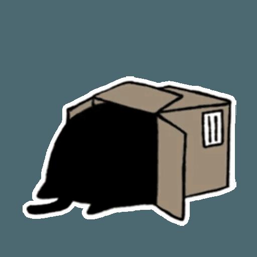 Kedama cat - Sticker 25