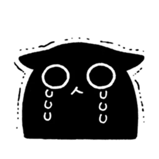 Kedama cat - Sticker 22