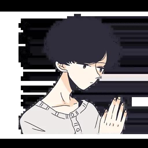 寂寞男孩 - Sticker 29