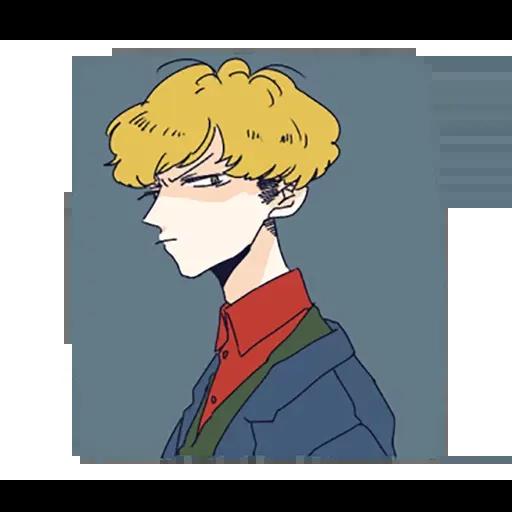 寂寞男孩 - Sticker 16