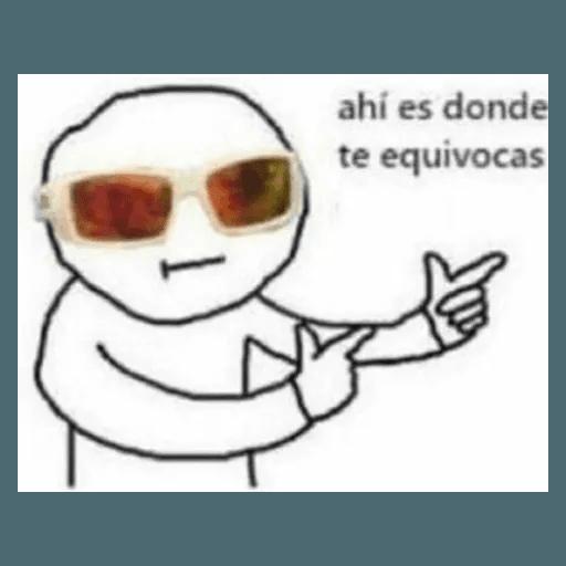 Memes en Español II - Sticker 21