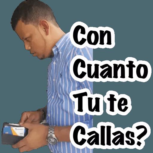 Memes en Español II - Sticker 3