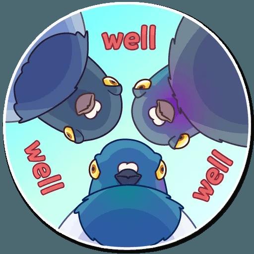 Insane Dove - Sticker 21