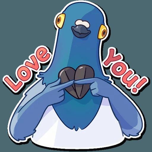 Insane Dove - Sticker 3