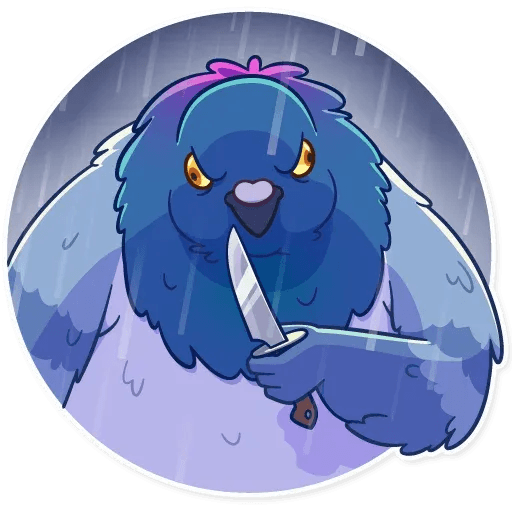 Insane Dove - Sticker 18