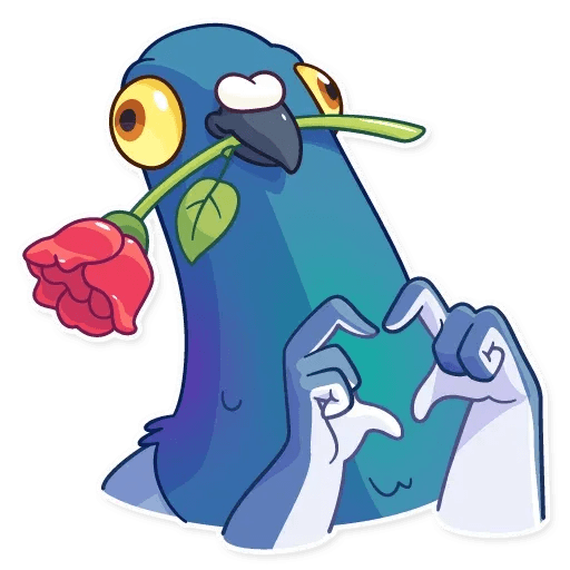 Insane Dove - Sticker 10