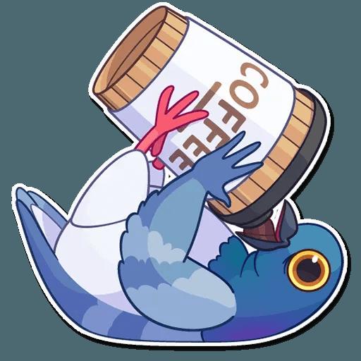Insane Dove - Sticker 11