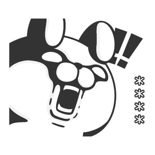 YOSISTAMP-兔兔100%隨你填 - Sticker 22