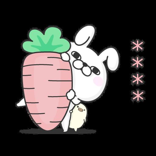 YOSISTAMP-兔兔100%隨你填 - Sticker 4