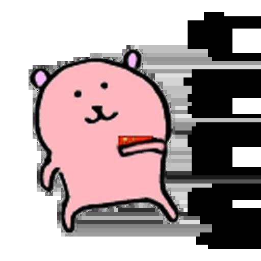 愛國小粉熊 - Sticker 6