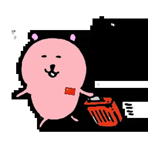 愛國小粉熊 - Sticker 12