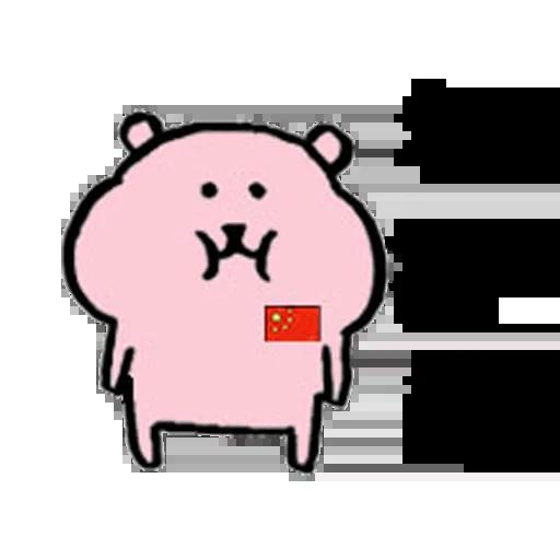 愛國小粉熊 - Sticker 3